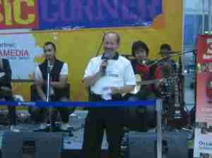 Bapak Solaiman Budiman menyampaikan ucapan terimakasih