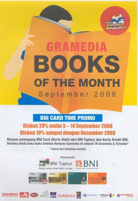 Gramedia Books of The Month (September 2008)