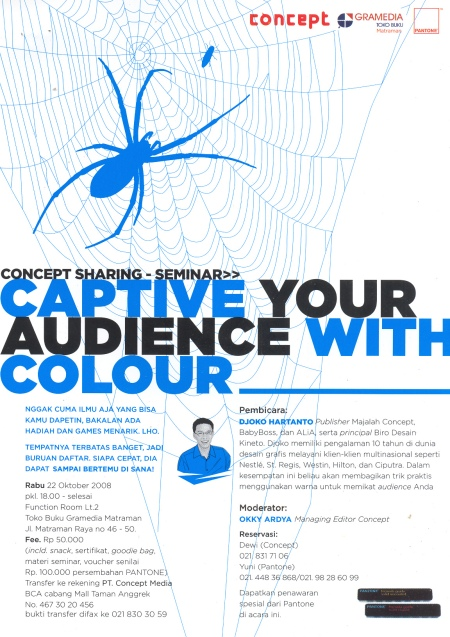 Captive Your Audience With Colour