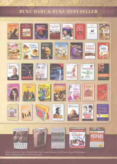 Daftar Buku Program Books of The Month Maret 2009