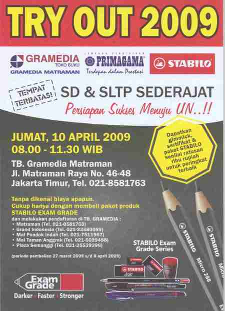 Try Out 2009