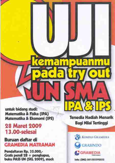 Try out UN SMA (IPA & IPS)