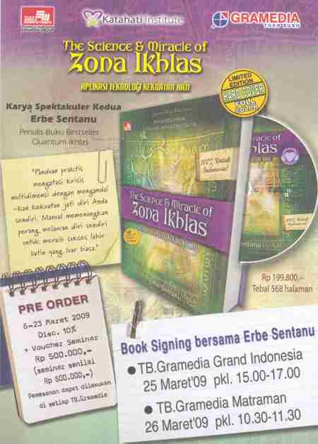 The Science & Miracle of Zona Ikhlas