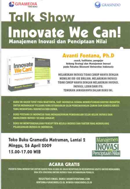 Innovate We Can !